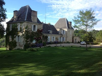 Photo for Classic Chateau close to Sarlat and Monpazier / Sleeps 8