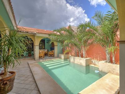 Photo for Beautiful house with vibrant colors just two blocks away of the Yucatan beach.