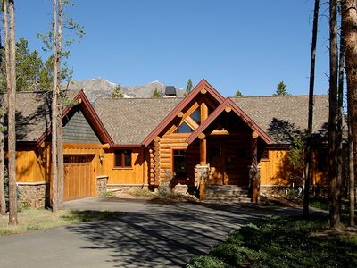 Photo for Log Home in the Highlands, Surrounded by Forest, close to Town & Gondola