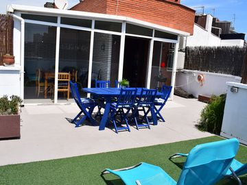 Duplex of 90m2, 6 persons with terrace of 30m2