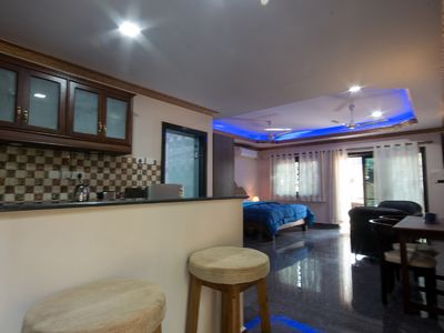 Photo for Zuperb Apartments  - Beach 1 min ride,walking distance is a bakery,restaurants