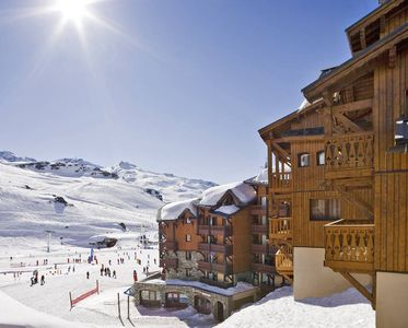 Photo for Apartment Les Montagnettes Soleil 2  in Val Thorens, Savoie - 6 persons, 2 bedrooms