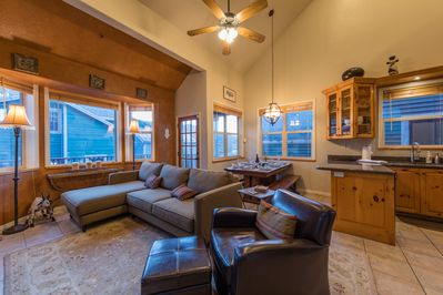 Spacious with vaulted ceilings. Kick back and unwind.