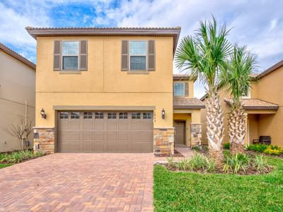 Photo for Luxury 5  Bed Villa with  Pool/Spa, Game Room & Resort Clubhouse - Minutes to Disney
