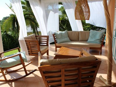 Photo for Rental in Martinique in the cove of the donkey cove