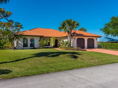 Photo for Waterfront Home with Pool & Boat Dock on Canal near Beach and Jupiter, FL