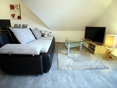 Photo for Dream Apartment with balcony in Oberhof directly on the Rennsteig max. 3pers. Incl. WIRELESS INTERNET ACCESS