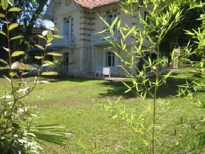 Photo for Very nice condo in Arcachon house in a conservation area