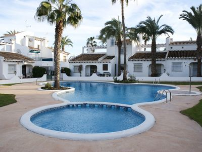 Photo for Villa with pool in Orihuela Costa, near the beach, 6 people