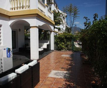 Photo for Apartment, Pool Complex and Tropical Gardens in Walking Distance of Puerto Banus