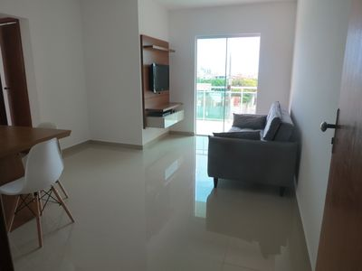 Photo for Clean apartment near the beach (with suite and balcony)