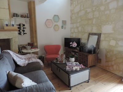 Photo for OLD STONE HOUSE, RENOVATED IN THE HEART OF SAINT EMILION