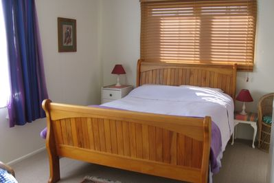 Main bedroom - has an additional single bed