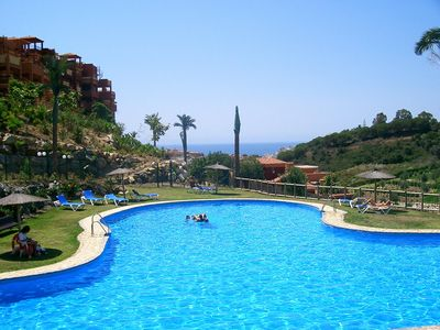 Photo for Luxury apartment Marbella area - mountain and sea views
