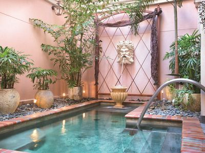 Photo for Luxe Warehouse District 1BR w/ Resort Outdoor Saltwater Spa & Indoor Hot Tub