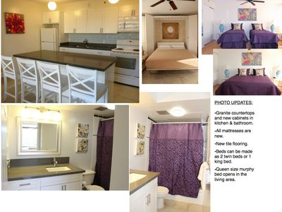 Photo for 1 block to beach * 1 Bdrm  + FREE Parking + WiFi