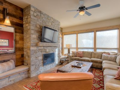Photo for Base Area Seclusion - Fire Pit, Hot Tubs, Free Shuttle - Discount Lift Tix Avail