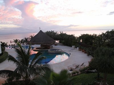 Photo for Casa Bendicion~Exclusive condo directly on beach, Sleeps 6, Huge pool w/hot tub