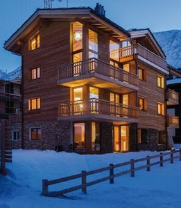 Photo for Exceptional Large Family Luxury Swiss Ski Chalet Penthouse in Saas Fee