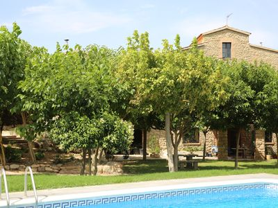 Photo for Rural Farmhouse in the mountain of Montserrat, capacity 14 pers + several guests