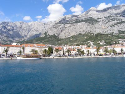 Photo for Apartment in the center of Makarska with Parking, Internet, Washing machine, Air conditioning (122953)