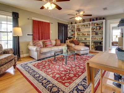 Photo for Dog-friendly home across the street from Bastrop State Park