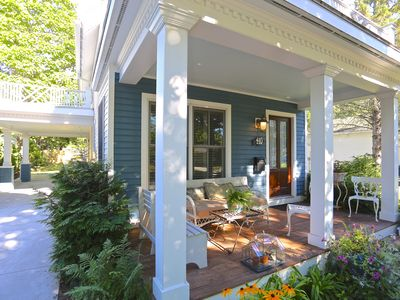Photo for Dreamy Cottage, Perfect Location to Lakes and Town! Cutest Cottage in Charlevoix