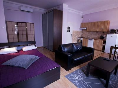 Photo for M28 apartment in Stare Miasto with WiFi & air conditioning.