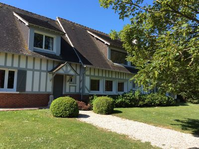 Photo for 3 km from Deauville large family house with sea view