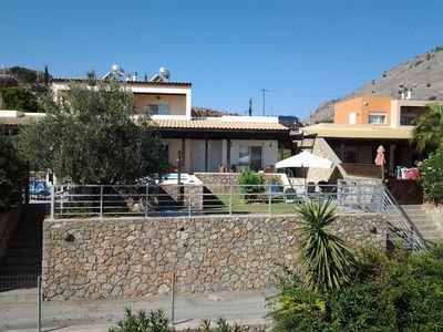 Photo for Beautiful Villa,Up To 6 People, Lindos/Pefkos,Pool,3 Beds,2 B/rooms,Sea views