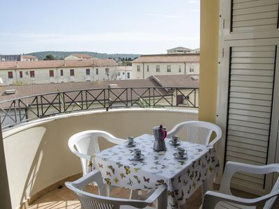 Photo for Via Carbonia apartment in Alghero with integrated air conditioning, balcony & lift.