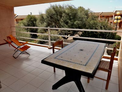 Photo for Sardinia, lovely apartment near the sea, south-east coast, balcony with a view