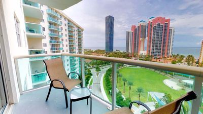Photo for Cozy 1 BR w/ Balcony on Sunny Isles - One Bedroom Apartment, Sleeps 4