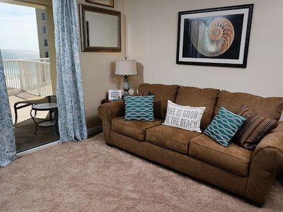 Photo for Gulf Front 1Bed 2Bth w/ Beach Service * Contact 4 Snow Bird Rates *