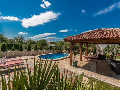 Photo for Lovely holiday home with beautiful garden, private pool, jacuzzi, terrace, BBQ