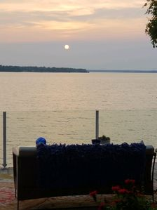 Photo for The most beautiful sunset over water view on Long Lake!  Newly remodeled!