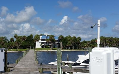 Water and dock are your backyard