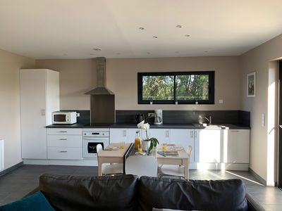 Photo for Modern and very spacious cottage with views of the countryside
