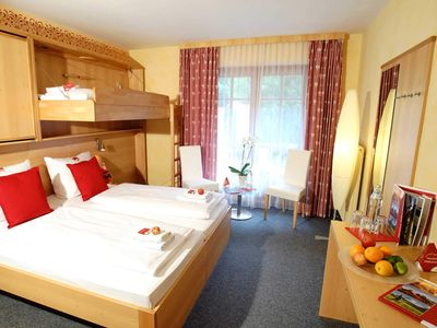 Photo for Double room shower / WC (up to 2 extra beds) 1 - first mountain Hotel Montafon