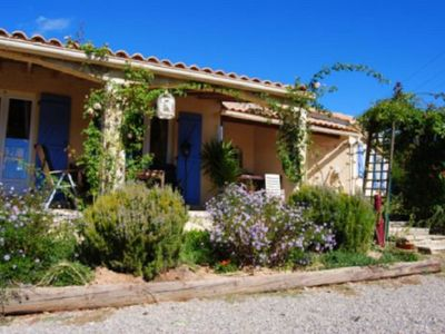 Photo for Holiday home in Pouzols-Minervois with private pool and stunning views in great hiking region