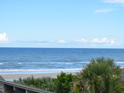 Photo for Beach & Ocean View, Pool, Can sleep 2 to 6  & extra  rental can sleep another 4