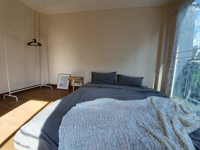 Photo for 4BR townhouse above 7-11, 10mins walk to trains, local food