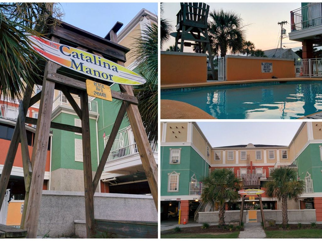 Paradise Cove At The Catalina Manor Sleeps Up To 24 People In North Myrtle Beach