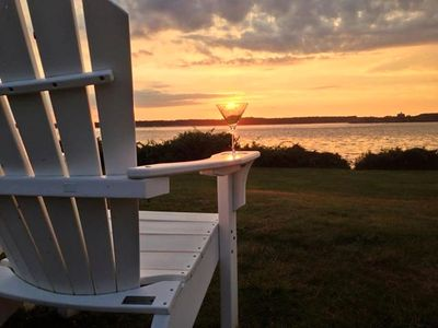 Enjoy at beautiful sunset from Beavertail, Castle Hill or Brenton State Park