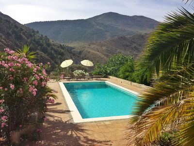 Photo for Beautiful,  tranquil, Orgiva retreat with large private pool, Las Alpujarras,