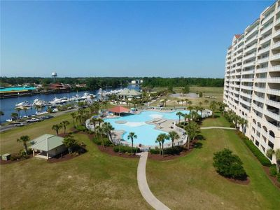 Photo for Gorgeous Views from Yacht Club Villas 1-805! Great Location & Beautiful!