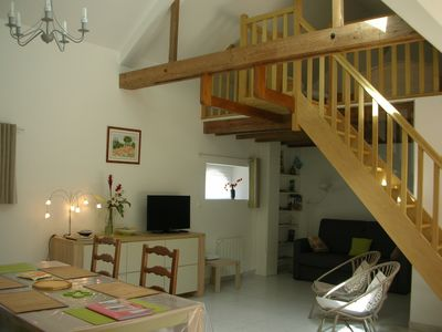 Photo for 60 m² house based in the city center in green