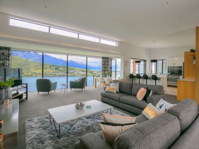 Photo for Ult View Lux: Magnificent villa in esteemed Highview Terrace, Queenstown Hill