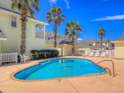 Photo for Dog-friendly condo w/shared pool, deck, large patio-Close to beach!