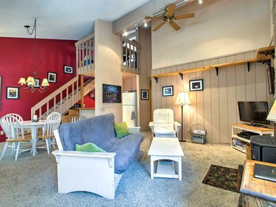 Photo for NEW! 1BR Mammoth Lakes Condo - Steps to Ski Lift!